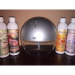 Fabulous Aire Revitalisers Silver Dome - With 7 Lights